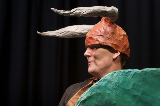 RADE performance of Raiders of the Lost Art (Tain) at the Project Arts Centre